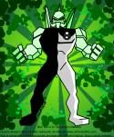 Diamond - Diamondhead, o alienígena do Omintrix