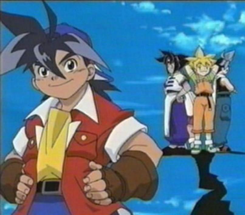 Takao ja hänen ystävänsä - Beyblade