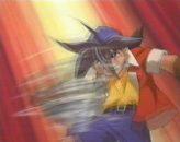 Takao heittää beybladen