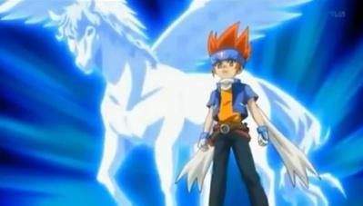 Ginka e Storm Pegasus - Beyblade Metal Fury
