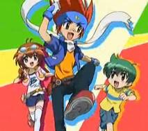 陀螺金属融合-Ginka,Madoka和Kenta