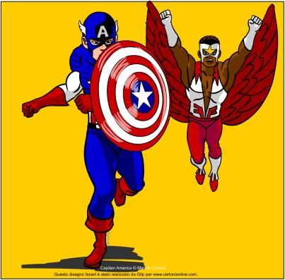 Capitan America E Falcon