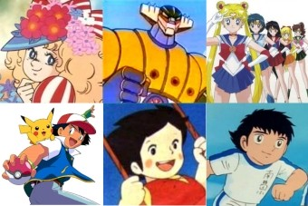 Personagens de desenhos animados japoneses