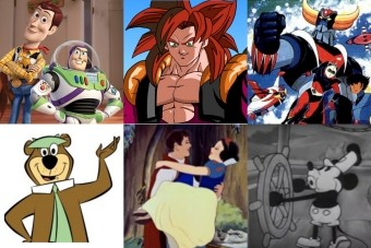 按生产年份列出的卡通片