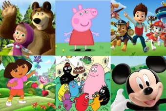 Cartoons characters