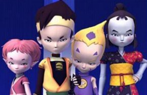 De virtuele hoofdrolspelers van Code Lyoko