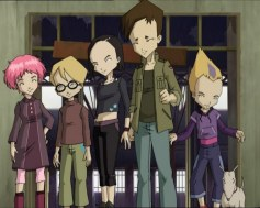 Aelita, Jeremy, Yumi, Ulrich en Odd