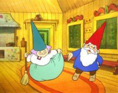 David gnome y Lisa