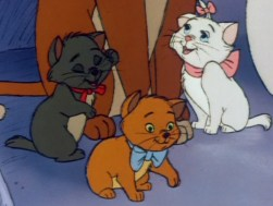 Toulouse, Marie and Berlioz - The Aristocats