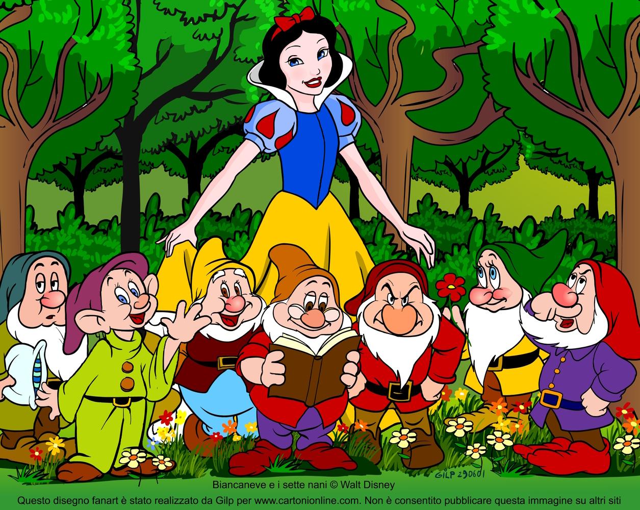 Biancaneve ha anni storia del cartoon in cui nessuno tranne