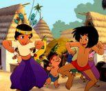 Shanti, Rajian och Mowgli dansar