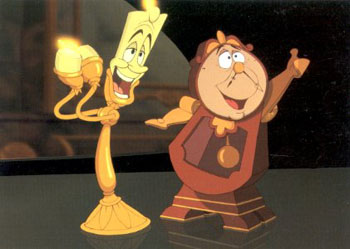 Lumiere and Tockins