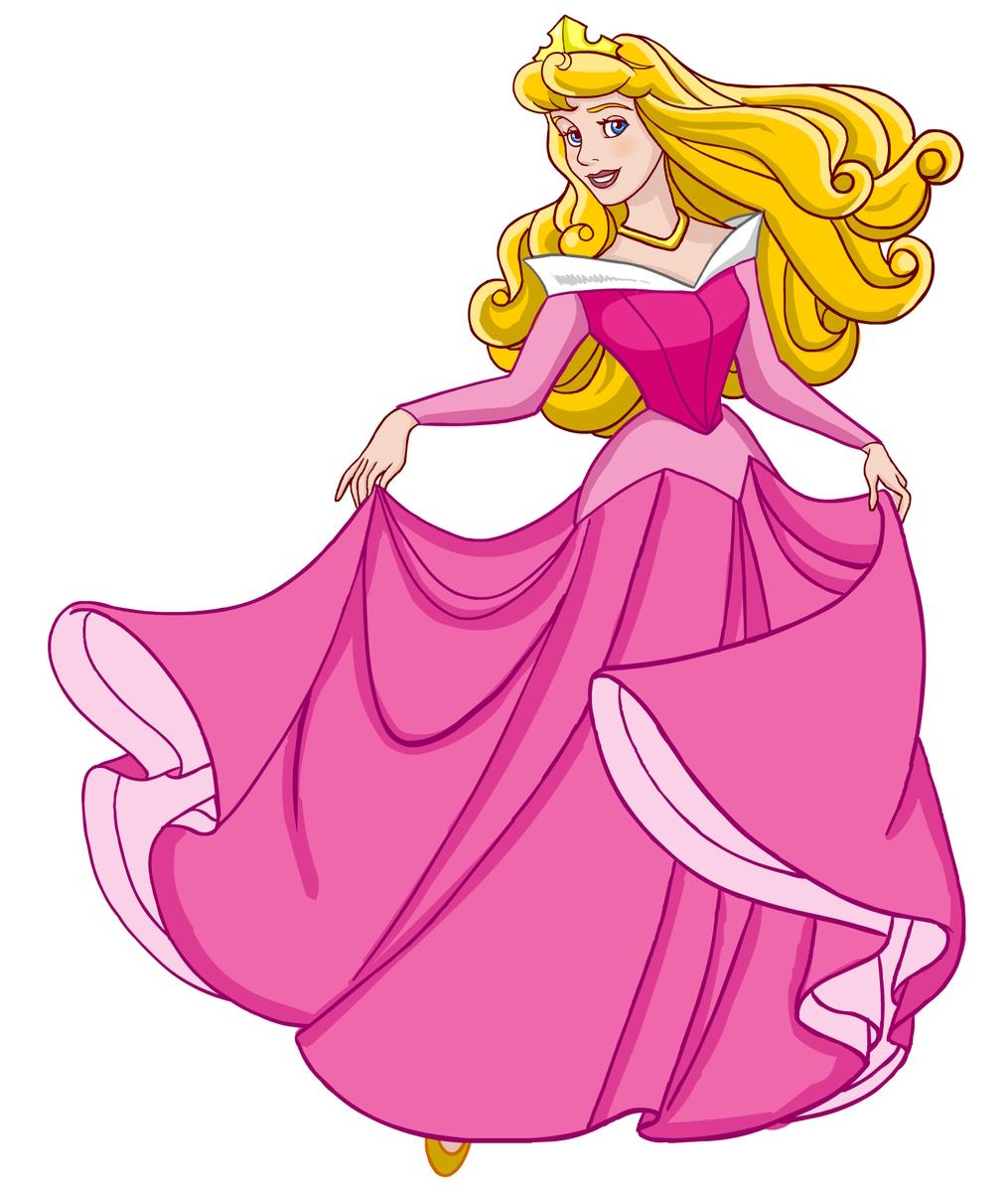 Prinsessa Aurora - nukkuva kauneus metsässä