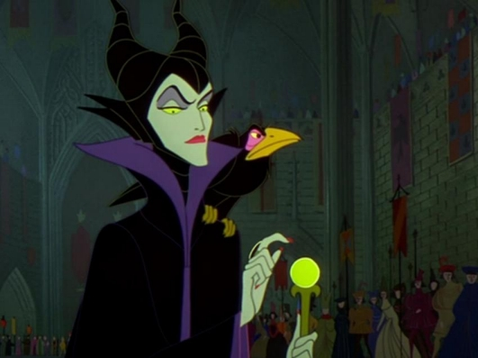 Maleficent witch - The sleeping beauty in the woods