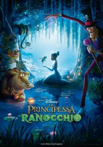 De poster van The Princess and the Frog