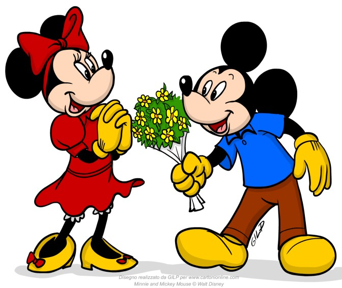 Minnie riceve i fori da topolino