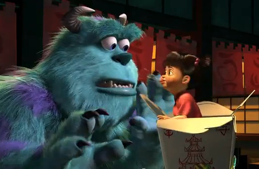 Sulley e Boo - Monsters e Co