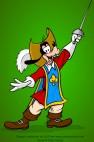 Goofy Musketeer