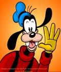 Image of Goofy saluting