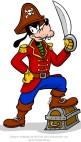 Goofy pirate