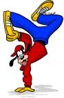 Goofy dances hip hop