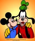 Mickey and Goofy