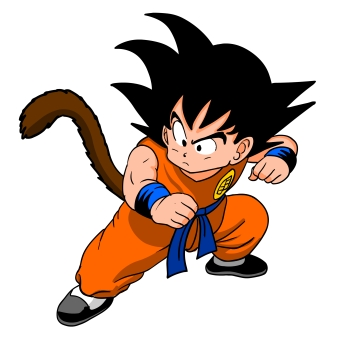 Goku bambino - Dragon Ball