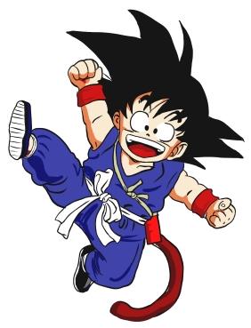 Goku kind - Dragon ball
