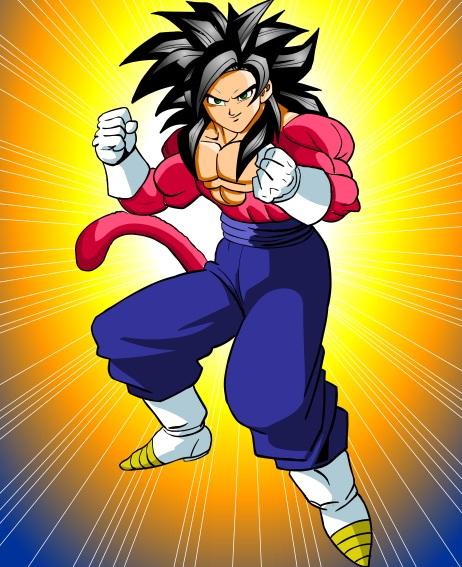 Goku Super Sayan IV - Dragon Ball GT