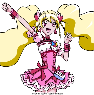 Fresh Pretty Cure - Love momozono - Cure Peach