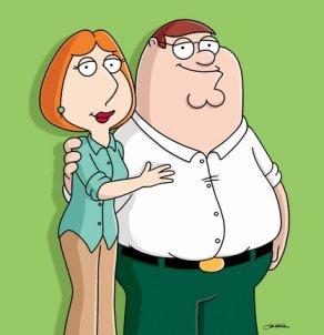 immagine di lois e peter griffin