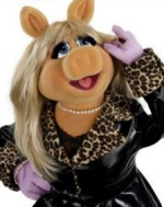 La maialina Miss Piggy dei Muppet