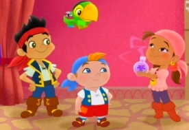 Jake e i suoi fedeli amici Izzy e Cubby