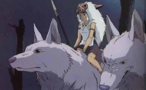 Księżniczka Mononoke i wilki