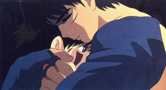 Ashitaka et San, princesse Mononoke