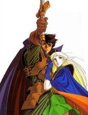Lodoss War - Parn and Deedlit