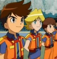 La squadra dei Machine Robo Rescue