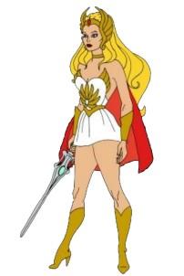 Uma imagem completa de Ela é a princesa do poder