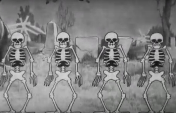 Silly Symphonies - The dance of the ghosts