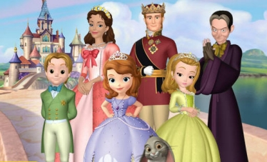 Sofia e la famiglia reale