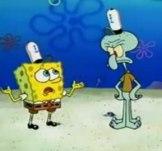 Spongebob and Squiddi Tentacolo