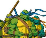Ninja-schildpadden - Leonardo, Michelangelo, Raphael en Donatello