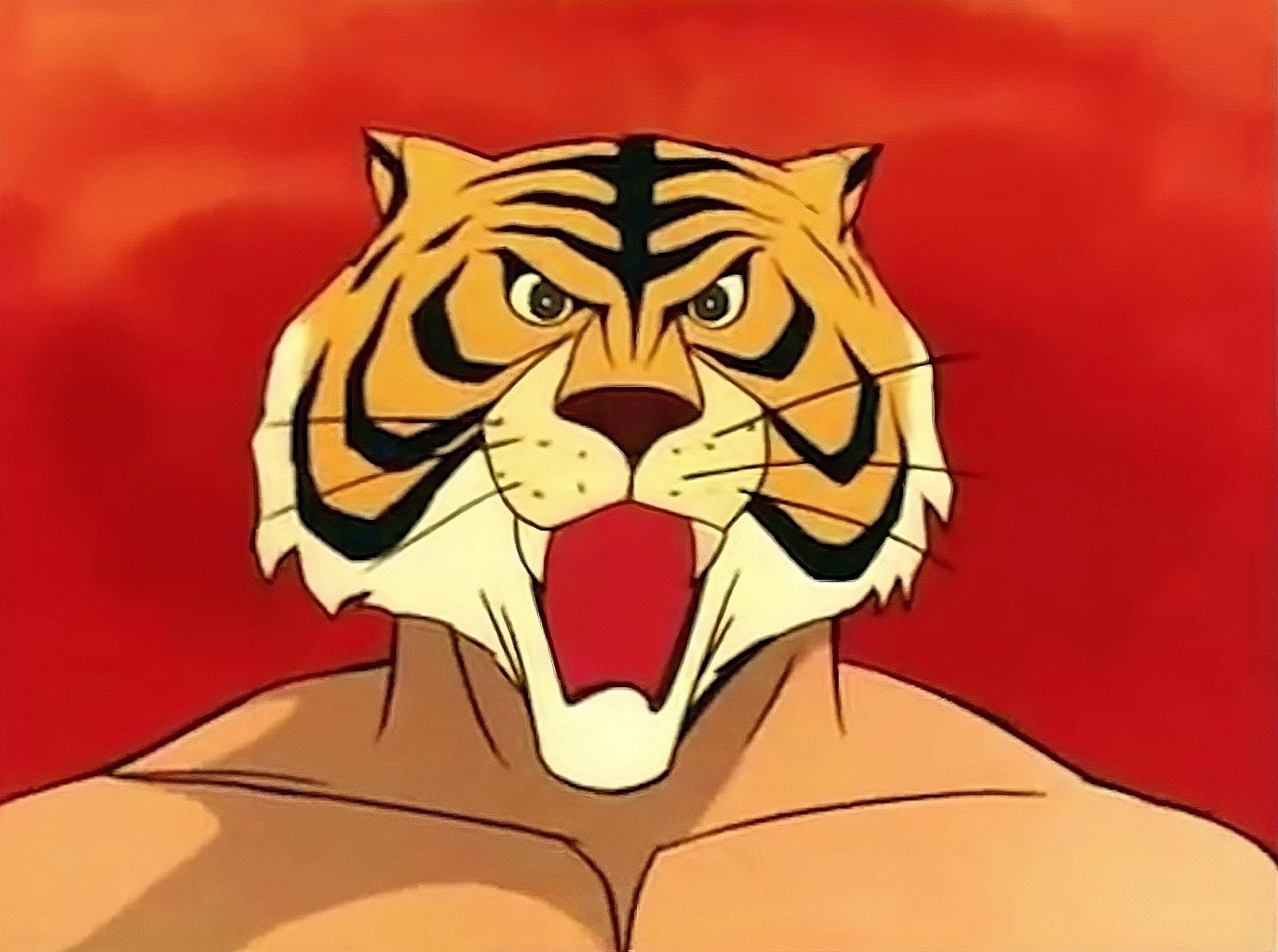 Uomo tigre for Immagini tigre da colorare