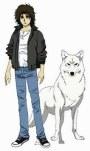 Kiba y el lobo blanco de la lluvia de lobo
