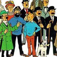 Los personajes de Tintin