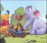 Winnie the Pooh y los efelanti