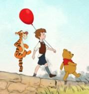 Tigger, Christopher Robin i Kubuś Puchatek