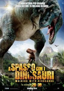 映画ポスター恐竜との散歩