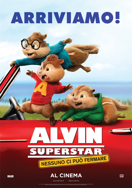 Alvin and the Chipmunks poster - Niemand kan ons tegenhouden