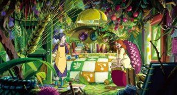 Arrietty e seu quarto